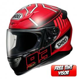 SHOEI NXR MARQUEZ 3 TC-1 RED
