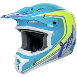 FLY 2016 KINETIC HELMET FULLSPEED BLUE/YELLOW
