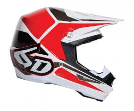 6D HELMET MX ATR TECH RED