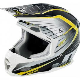 JT ALS-02 2015 HELMET COMP WHITE/BLACK