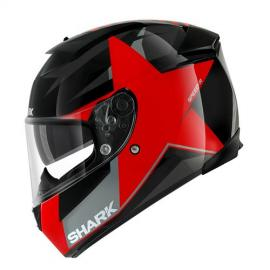 SHARK SPEED-R MXV TEXAS BLACK/RED