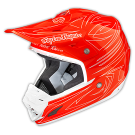 TLD 15 SE3 AS HELMET ONE SHOT RED