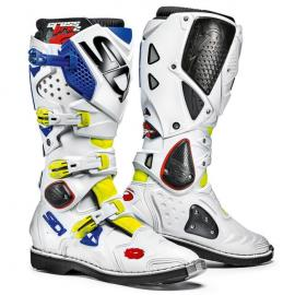 SIDI CROSSFIRE 2 WHITE/BLUE/YELLOW