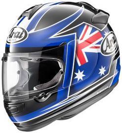 ARAI VECTOR II AUSTRALIA FLAG