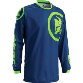 THOR 2016 PHASE JERSEY GASKET NAVY/LIME