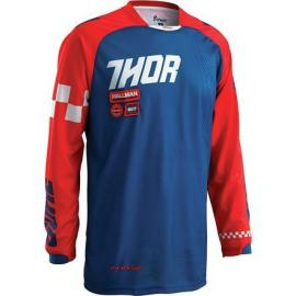 THOR 2016 PHASE JERSEY RAMBLE NAVY/RED