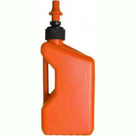 TUFF JUG FUEL CAN ORANGE W/ORANGE CAP 20 LITRE