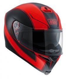AGV K5 ENLACE MATT BLACK/RED