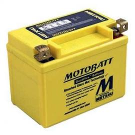 Motobatt AGM battery KTM 250EXC two-stroke 2008-2016