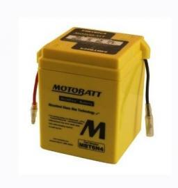 Motobatt 6-volt AGM battery Yamaha DT250 1974-1981