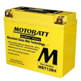 Motobatt AGM battery Kawasaki Ninja ZX10R 2004-2012