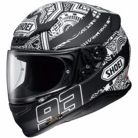 SHOEI NXR MARQUEZ DIGI ANT TC 5 MATT BLACK