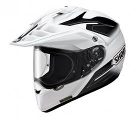 SHOEI HORNET ADVENTURE HELMET SEEKER TC-6 WHITE