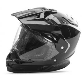 FLY TREKKER HELMET GLOSS BLACK