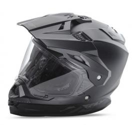 FLY TREKKER HELMET MATT BLACK