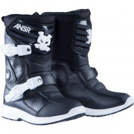 ANSWER A16 PRODIGY PEE WEE BOOT BLACK/WHITE