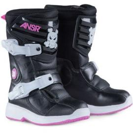 ANSWER A16 PRODIGY PEE WEE BOOT BLACK/PINK
