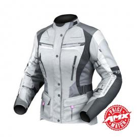 DRIRIDER APEX 4 WOMENS JACKET GREY/WHITE/BLACK