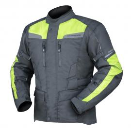 DRIRIDER COMPASS 2 YOUTH JACKET BLACK/YELLOW