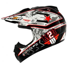 M2R X-2.5 HELMET COMBAT PC-1 RED