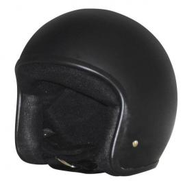 M2R 225 VICE OPEN-FACE HELMET MATT BLACK NO STUDS