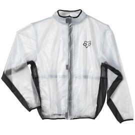 FOX MX FLUID RAIN JACKET CLEAR