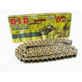 DID 520 VX2 X-RING CHAIN GOLD 120-LINK