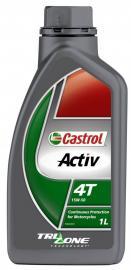 CASTROL ACTIV 4T 15W50 1-LITRE