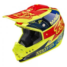 TLD 15 SE3 AS HELMET TEAM YELLOW