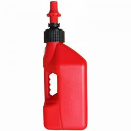 TUFF JUG FUEL CAN WHITE 10 LITRE RED CAP