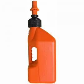 TUFF JUG FUEL CAN ORANGE 10 LITRE ORANGE CAP