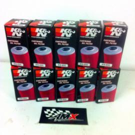 K&N OIL FILTERS 10-PACK KTM 250EXC-F 2007-2012