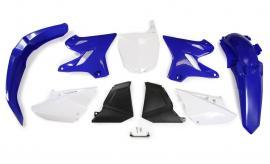 RTECH PLASTIC KIT YZ125 YZ250 RESTYLE BLUE