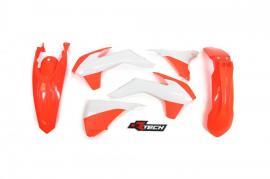 RTECH PLASTIC KIT KTM 200EXC 2014-2016 NEON ORANGE