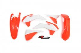 RTECH PLASTIC KIT KTM 250EXC 2014-2016 NEON ORANGE