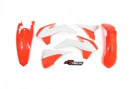 RTECH PLASTIC KIT KTM 300EXC 2014-2016 NEON ORANGE