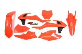 RTECH PLASTIC KIT KTM 250SX 2017 NEON ORANGE