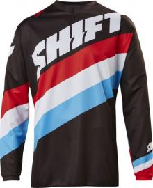 SHIFT 2017 WHIT3 TARMAC JERSEY YOUTH BLACK