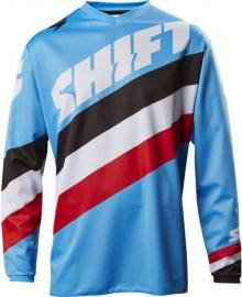 SHIFT 2017 WHIT3 TARMAC JERSEY YOUTH BLUE