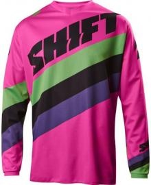 SHIFT 2017 WHIT3 TARMAC JERSEY YOUTH BLACK/PINK