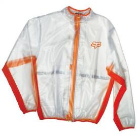 FOX MX FLUID RAIN JACKET ORANGE