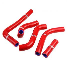 STATES MX RED RADIATOR HOSE SET SUZUKI RMZ250 2011-2012