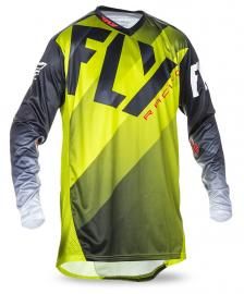 FLY 2017 LITE HYDROGEN JERSEY LIME/BLACK/WHITE