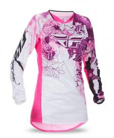 FLY 2017 KINETIC LADIES JERSEY PINK/PURPLE