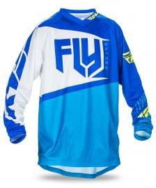 FLY 2017 F-16 JERSEY YOUTH BLUE/HIVIS