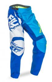 FLY 2017 F-16 PANT YOUTH BLUE/HIVIS