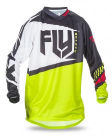 FLY 2017 F-16 JERSEY YOUTH BLACK/LIME
