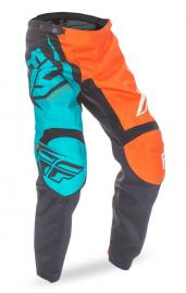 FLY 2017 F-16 PANT YOUTH ORANGE/TEAL