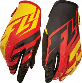 FLY 2015 KINETIC YOUTH GLOVE RED/BLACK/YELLOW