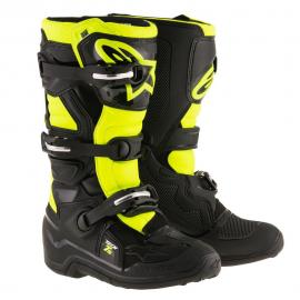 ALPINESTARS TECH 7S YOUTH BLACK/FLUORO